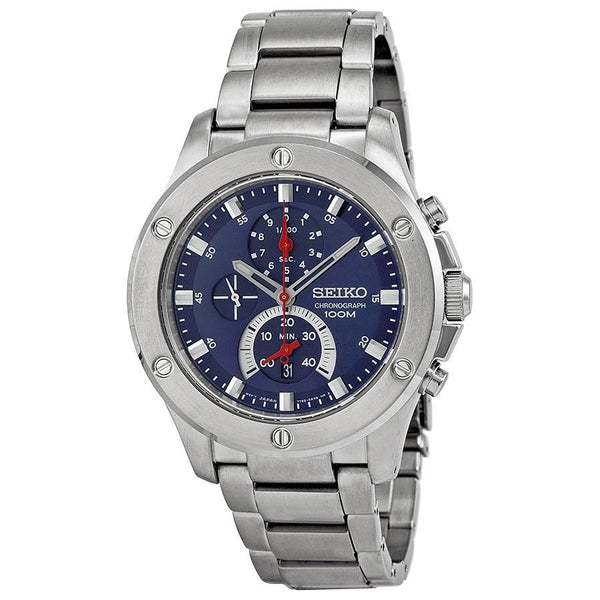 Seiko Men's SPC093 Chronograph Stainless Steel Watch