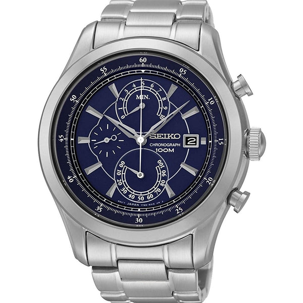 Seiko Men's SPC165 Chronograph Stainless Steel Watch