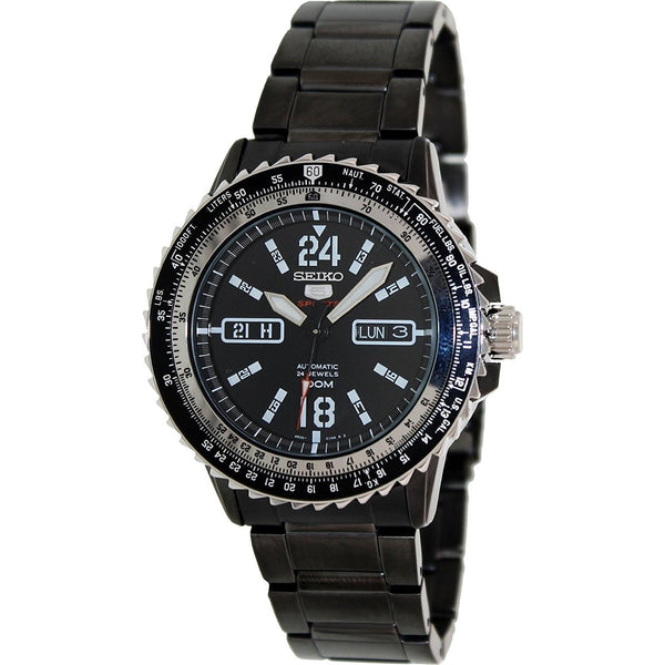 Seiko Men's SRP355 '5 Series' Automatic Stainless Steel Watch