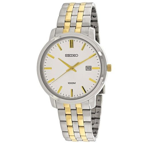 Seiko Men's SUR111P1 'Classic' Two-Tone Stainless Steel Watch