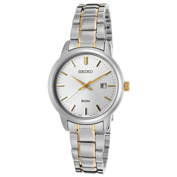 Seiko Women's SUR745P1 Two-Tone Stainless Steel Watch