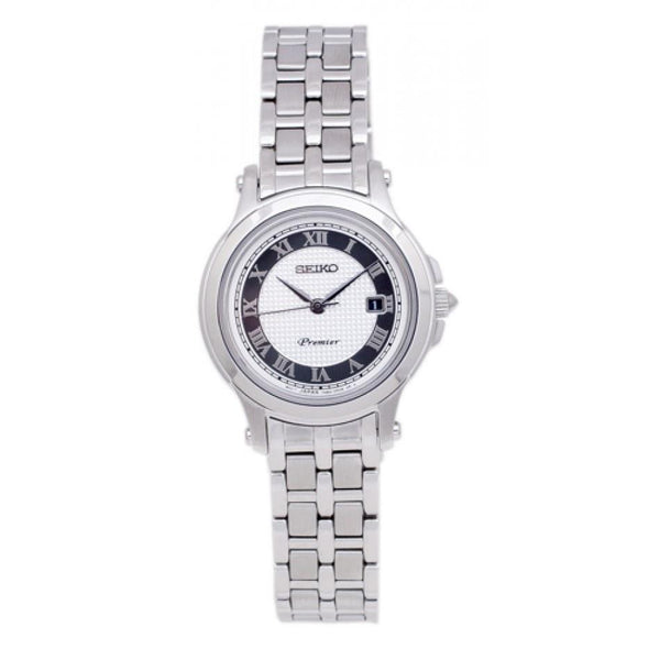Seiko Women's SXDE41 'Classic'  Stainless Steel Watch