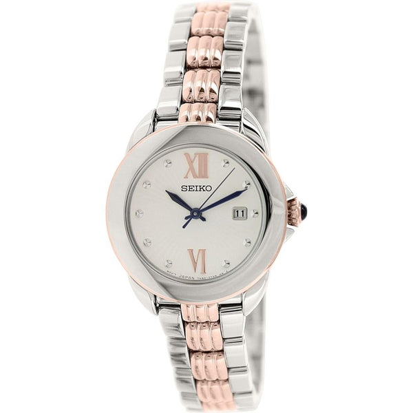 Seiko Women's SXDF62 'Classic' Two-tone Stainless Steel Watch