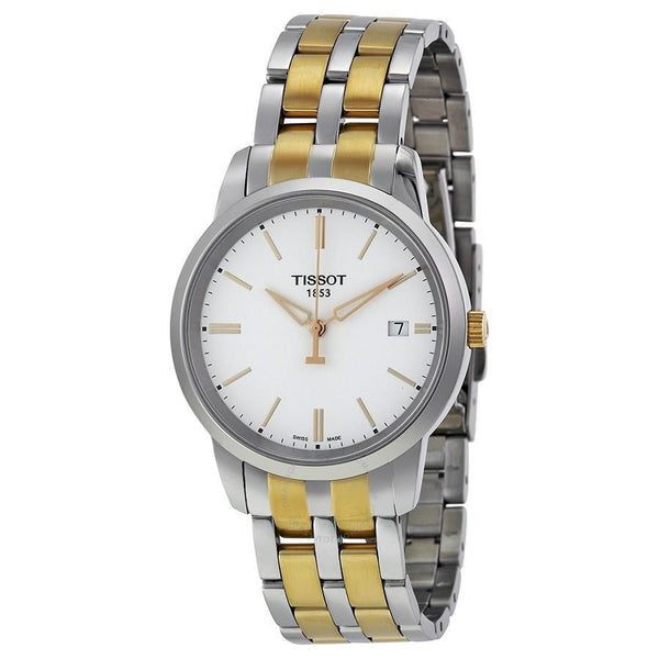 Tissot Women's T0334102201101 'T-Classic' Two-Tone Stainless Steel Watch