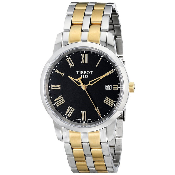 Tissot Men's T0334102205301 'T-Classic Dream' Two-Tone Stainless Steel Watch