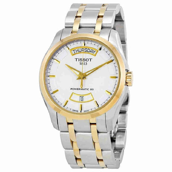 Tissot Men's T0354072201101 'Couturier Powermatic 80' Automatic Two-Tone Stainless Steel Watch