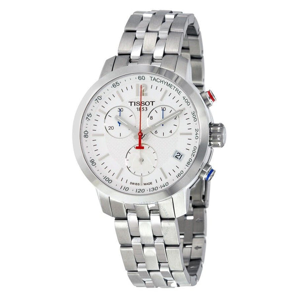Tissot Men's T0554171101701 'PRC 200 NBA Special Edition' Chronograph Stainless Steel Watch