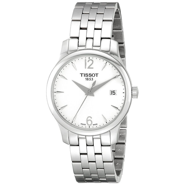 Tissot Women's T0632101103700 'Tradition' Stainless Steel Watch