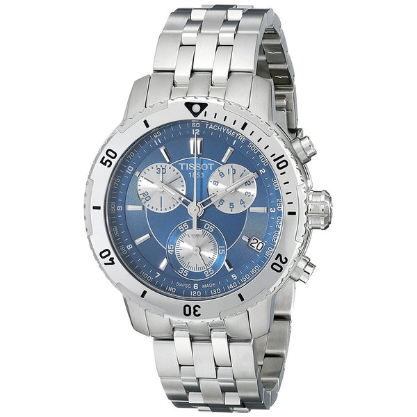 Tissot Men's T0674171104100 'PRS 200' Chronograph Stainless Steel Watch