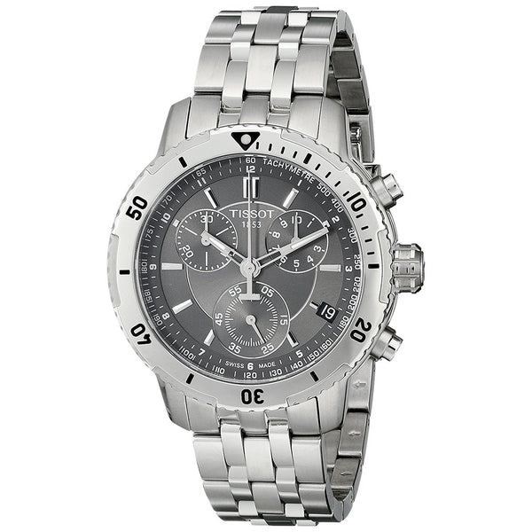 Tissot Men's T0674171105100 'PRS200' Chronograph Stainless Steel Watch