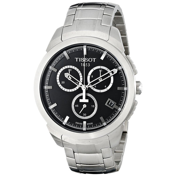 Tissot Men's T0694174405100 Chronograph Titanium Watch