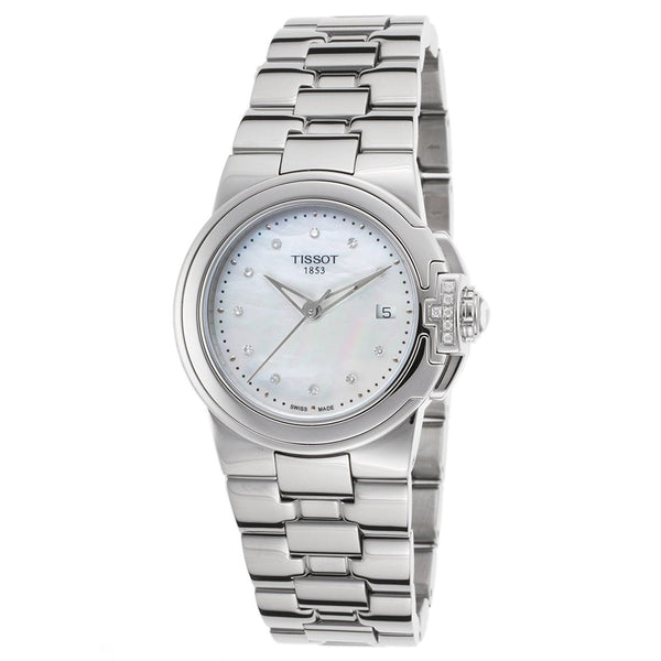 Tissot Women's T0802106111600 'T-Sport' Diamond Stainless Steel Watch
