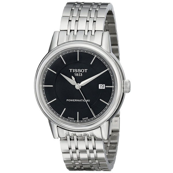 Tissot Men's T0854071105100 'T-Classic Powermatic 80' Automatic Stainless Steel Watch