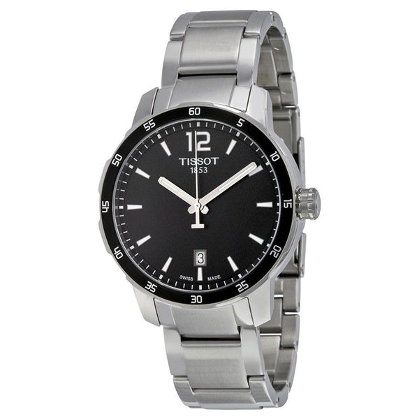 Tissot Men's T0954101105700 'Quickster' Black stainless steel Watch