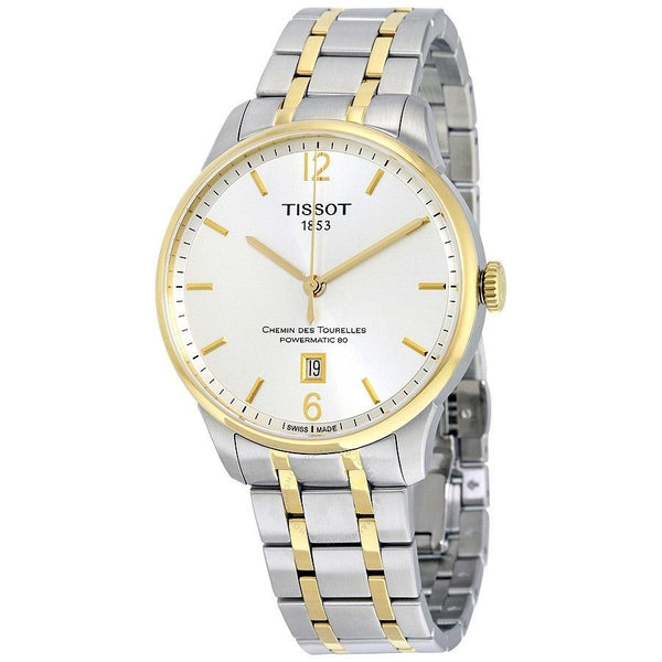 Tissot Men's T0994072203700 'T-Classic' Automatic Two-Tone Stainless Steel Watch