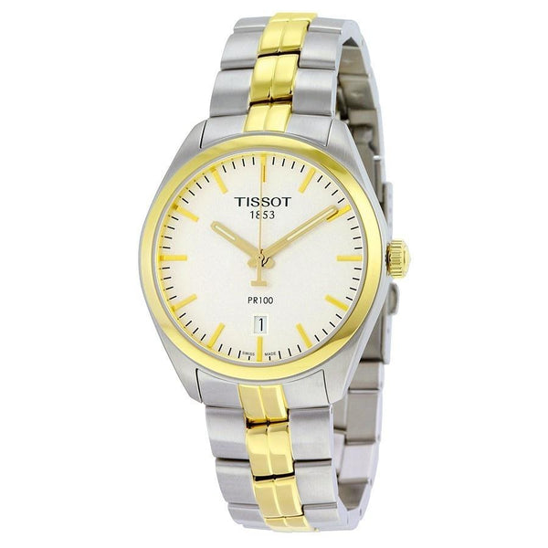 Tissot Men's T1014102203100 'PR 100' Two-Tone Stainless Steel Watch
