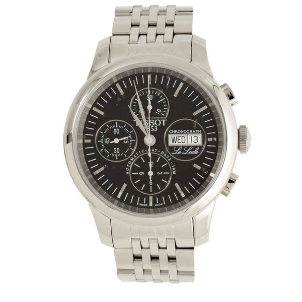 Tissot Men's T41138751 'Le Locle' Chronograph Automatic Stainless Steel Watch