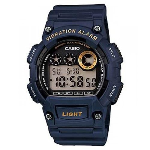 Casio Men's W-735H-2AV 'Classic' Digital Blue Rubber Watch