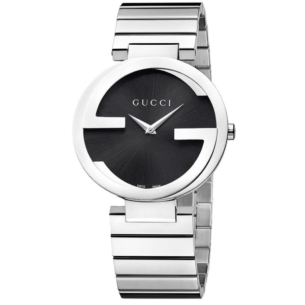 Gucci Women's YA133307 'Interlocking-G' Stainless Steel Watch