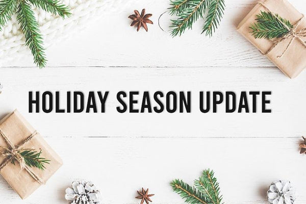 Holiday Season Update | PDAPlaza Canada