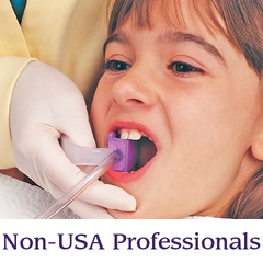 A Open Wide mouth prop is in a patients mouth | Specialized Care Co
