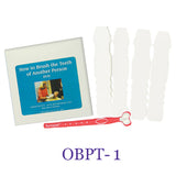 Oral Care Kits - DVD and 4 mouth rests and toothbrush