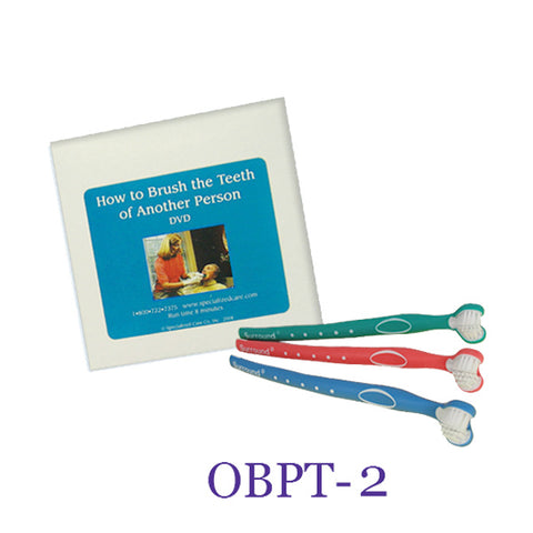 Oral Care Kits - DVD and 3 toothbrushes