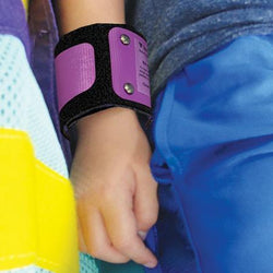 Rainbow Wristlets shown on patient