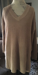 Over Sized Sweater-Mocha