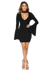 Raquel Dress- Black