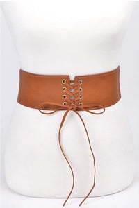 Corset Belt - Light Cognac