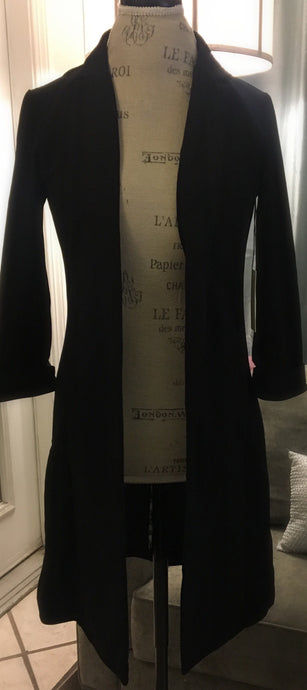 Black Long Blazer