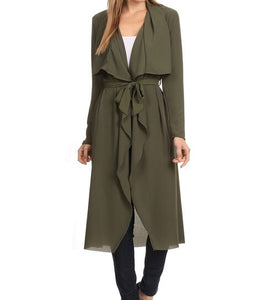 Olive Green Duster
