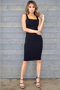 Clarissa Dress-  Black