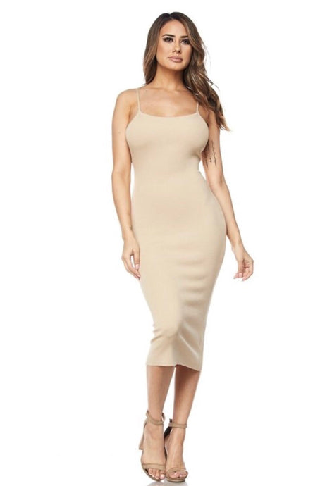 Chloe Dress- Nude
