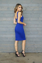Clarissa Dress-  Blue