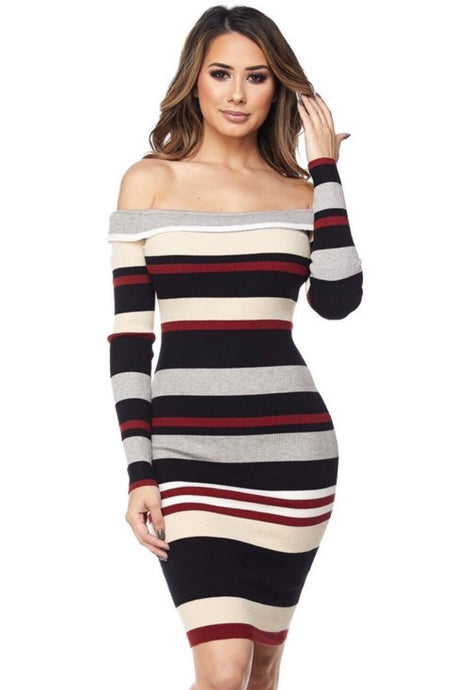 Camila Striped Dress