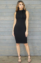 Victoria Bod Con Dress - Black