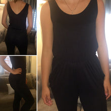 Black Tank Jumpsuit