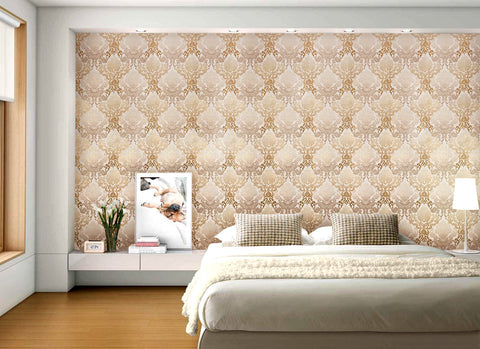 peach-wallpaper-damask-wallpaper