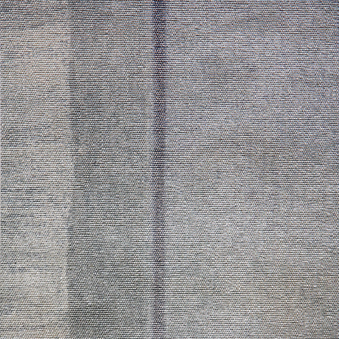 310007 Gray Silver Metallic Rustic Stripe Wallpaper