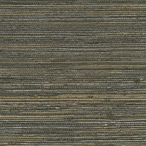 2732-80071 Kenneth James by Brewster Natural Grasscloth SHANDONG CHOCOLATE RAMIE Wallpaper