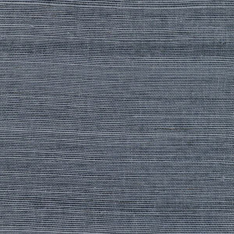 2732-80015 Kenneth James Brewster Natural Grasscloth VICTORIA INDIGO Wallpaper