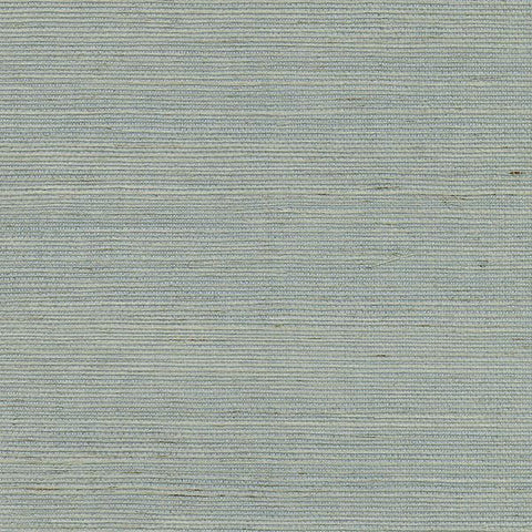 2732-80014 Kenneth James Brewster Natural Grasscloth ZHEJIANG AQUAMARINE Wallpaper