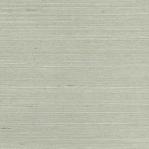 2732-80012 Kenneth James Brewster Natural Grasscloth NANTONG LIGHT BLUE Wallpaper