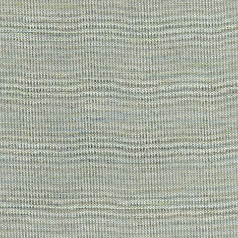2732-80045 Kenneth James Brewster SAMAI AQUAMARINE Natural Grasscloth Wallpaper