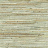 2732-80070 Kenneth James by Brewster Natural Grasscloth Shandong Sea Green Wallpaper
