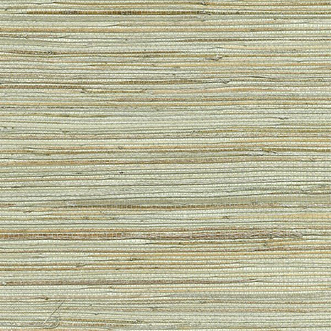 2732-80070 Kenneth James by Brewster Natural Grasscloth Shandong Sea Green Wallpaper - wallcoveringsmart