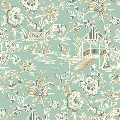 AT7036 Tahiti Scenic Sure Strip Wallpaper