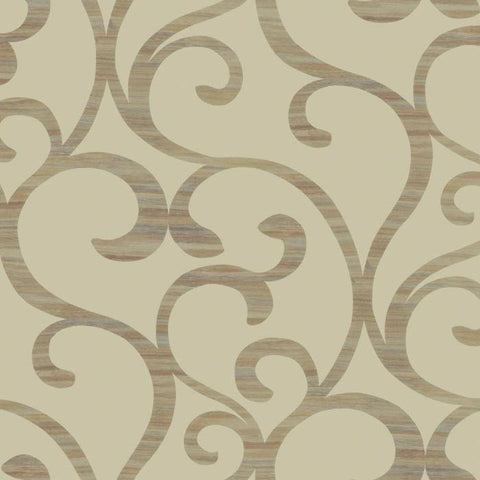 Y6200305W1 Dazzling Coil Unpasted Wallpaper